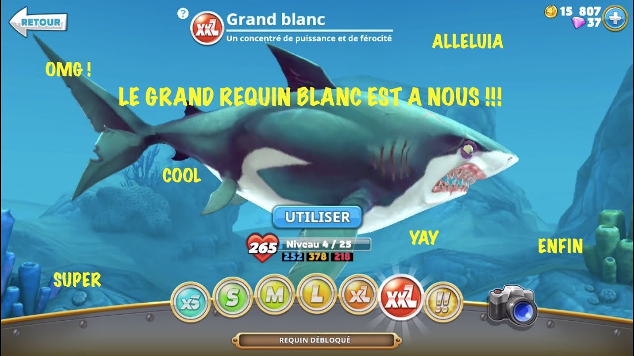 Hungry Shark World : Astuces et guides - reptiles-annonces.fr