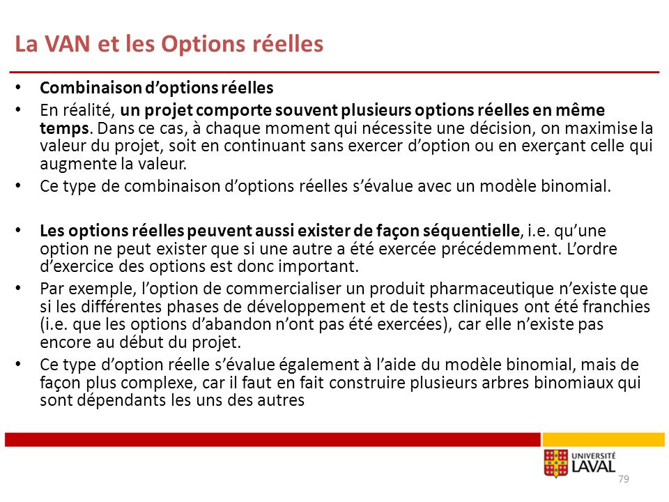 Options Réelles (Luehrman)